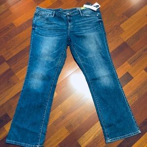 New women's Mossimo boot cut jeans
